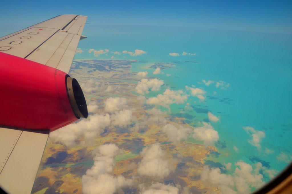 Views over Exuma, Bahamas