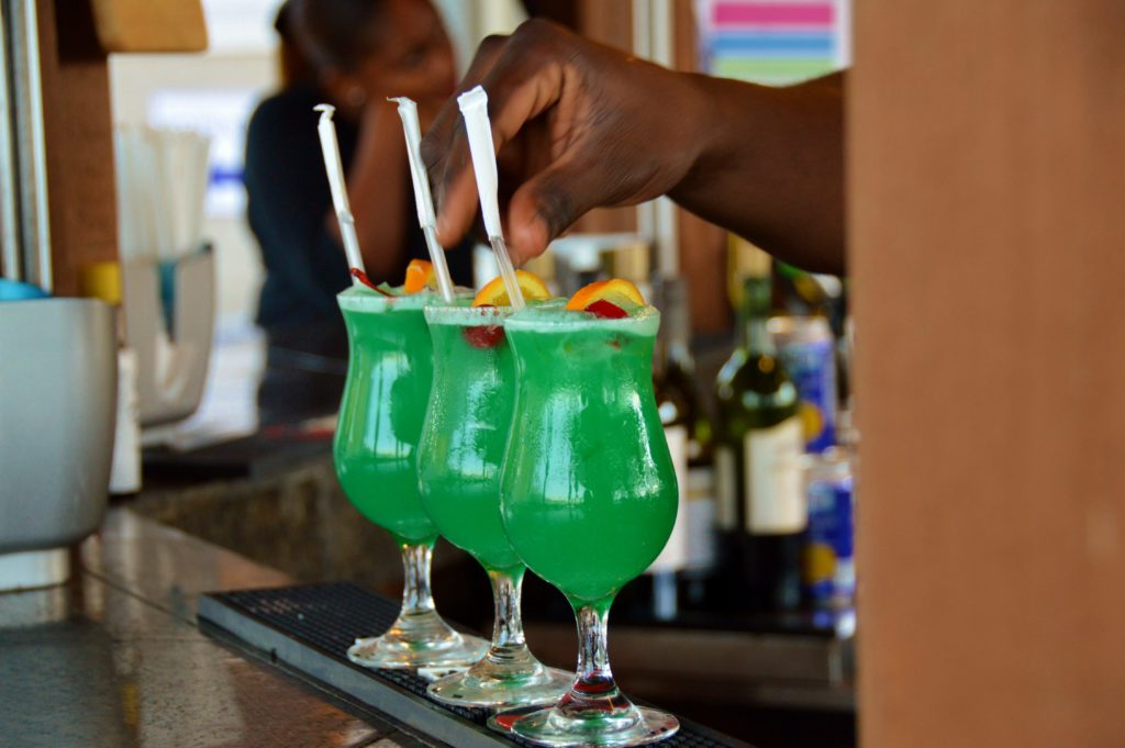 Thirst-quenching, Bahamian style