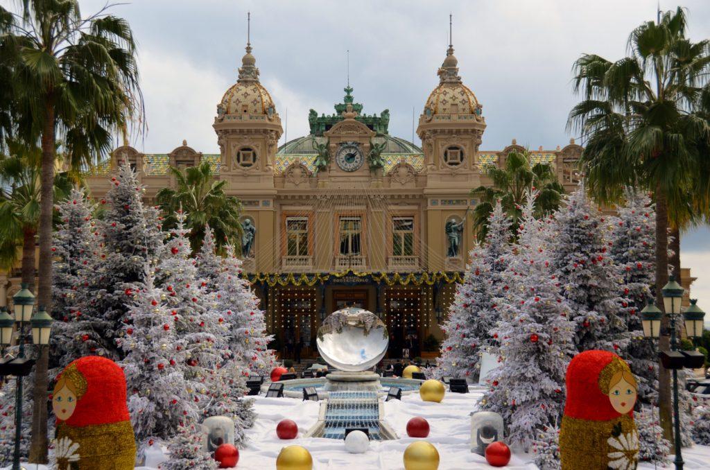Monaco during Christmas