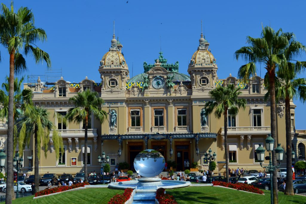 Luxurious Monte Carlo Casino