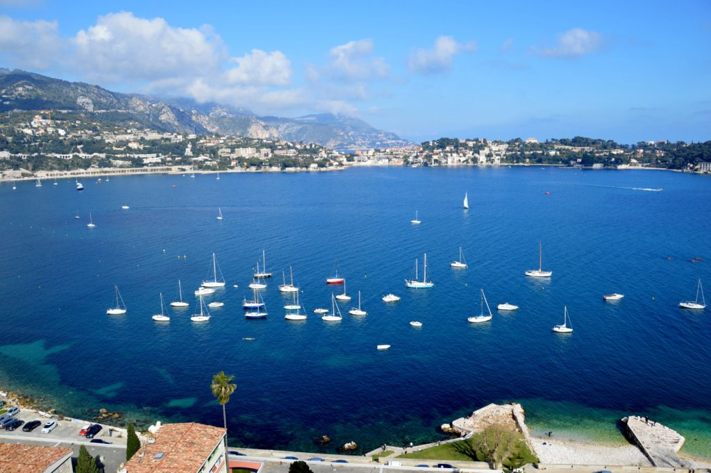 Beautiful view toward Cap Ferrat