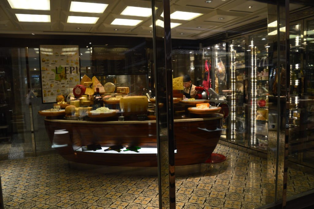 L'Epicerie - AKA - stinky cheese room.