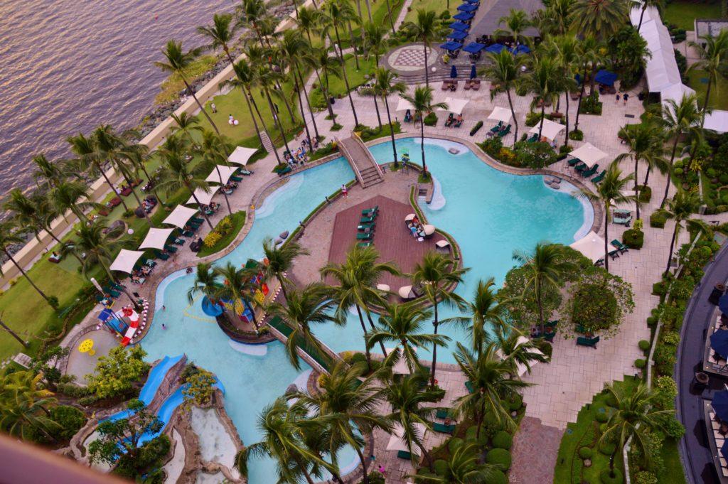 Signature pool by landscape architect, Ildefonso P. Santos