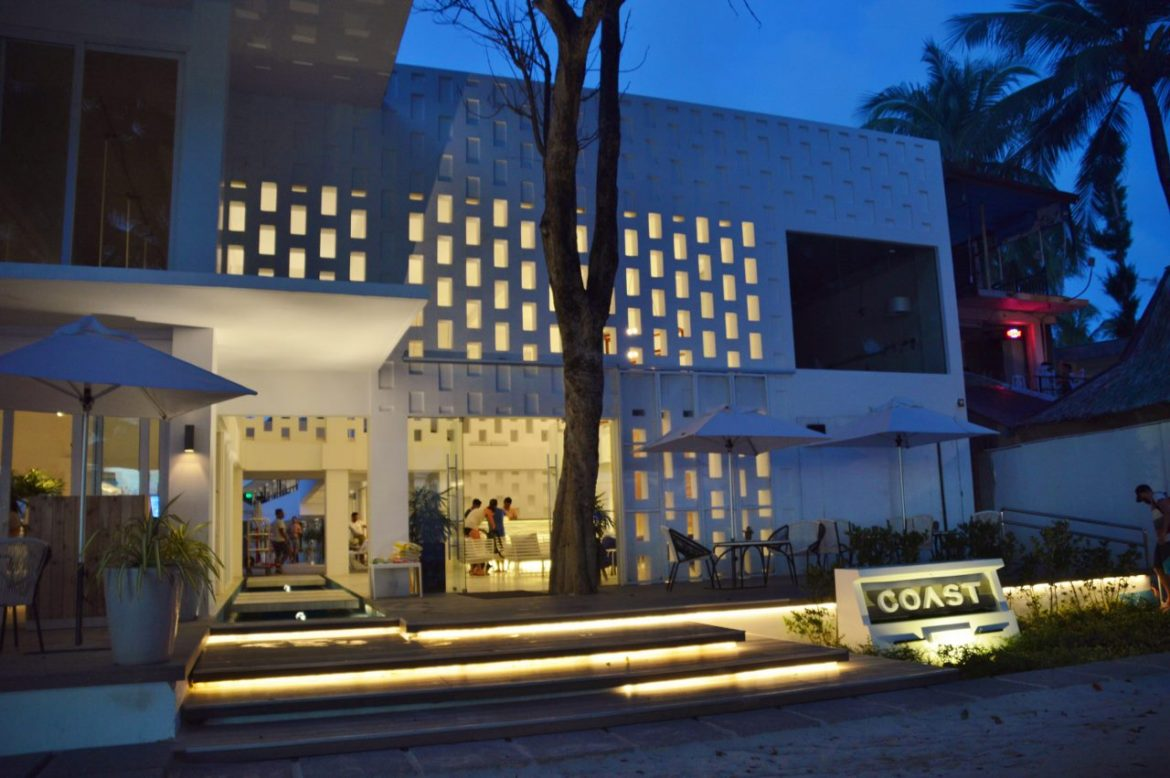 Front Entrance of Coast Boracay Hotel