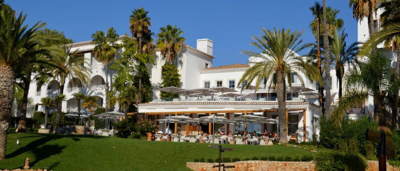 Pool at Vila Vita Resort in the Algarve Portugal