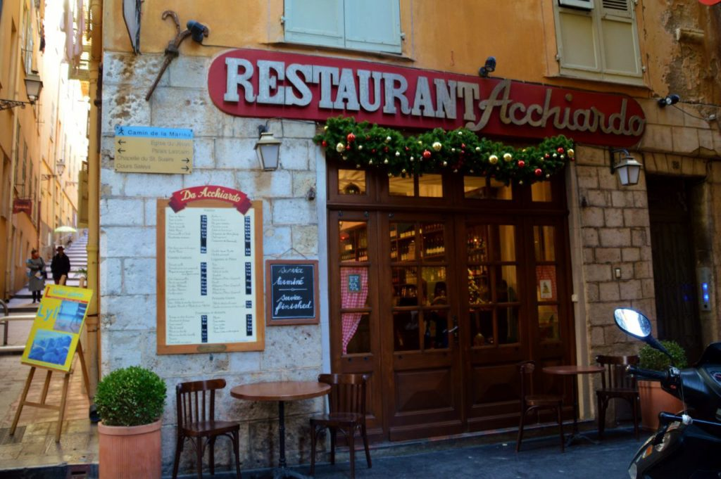 Nice in Winter, Acchiardo Restauran