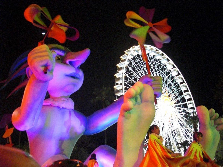 Nice Carnival in Winter