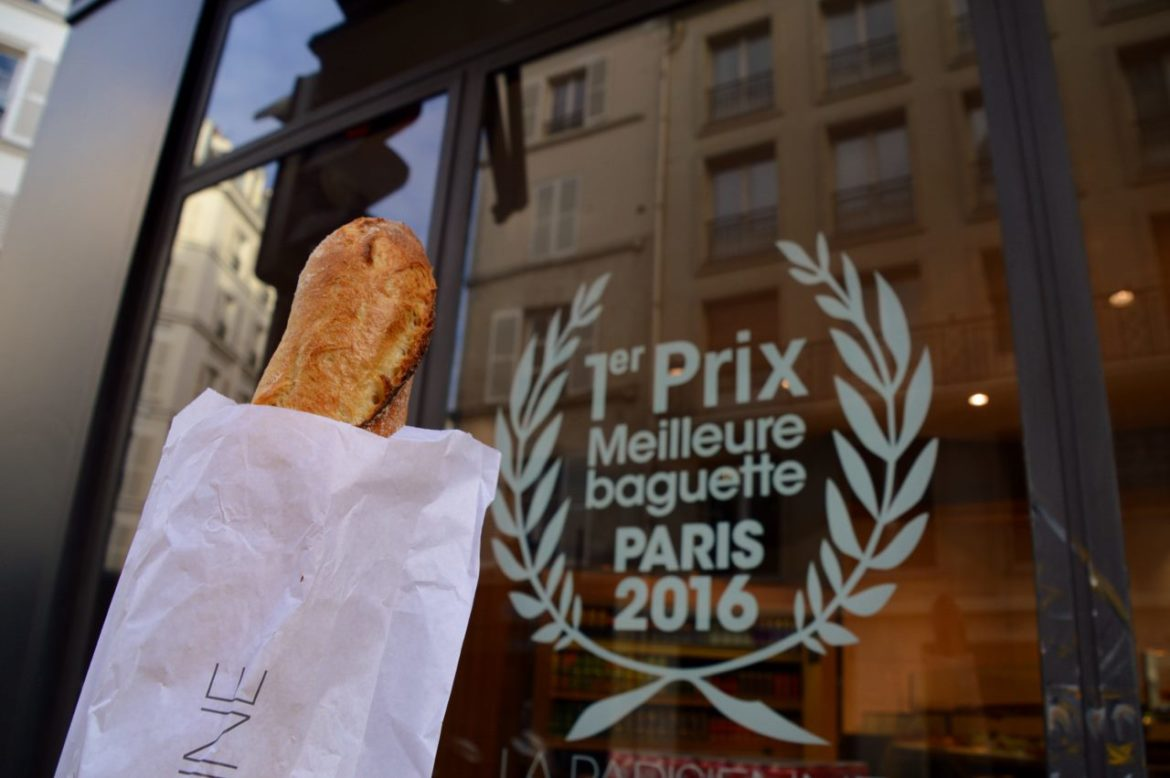 The best baguette in Paris in the 6th Arrondissement