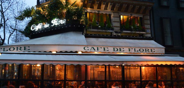 Cafe de Flore in Paris