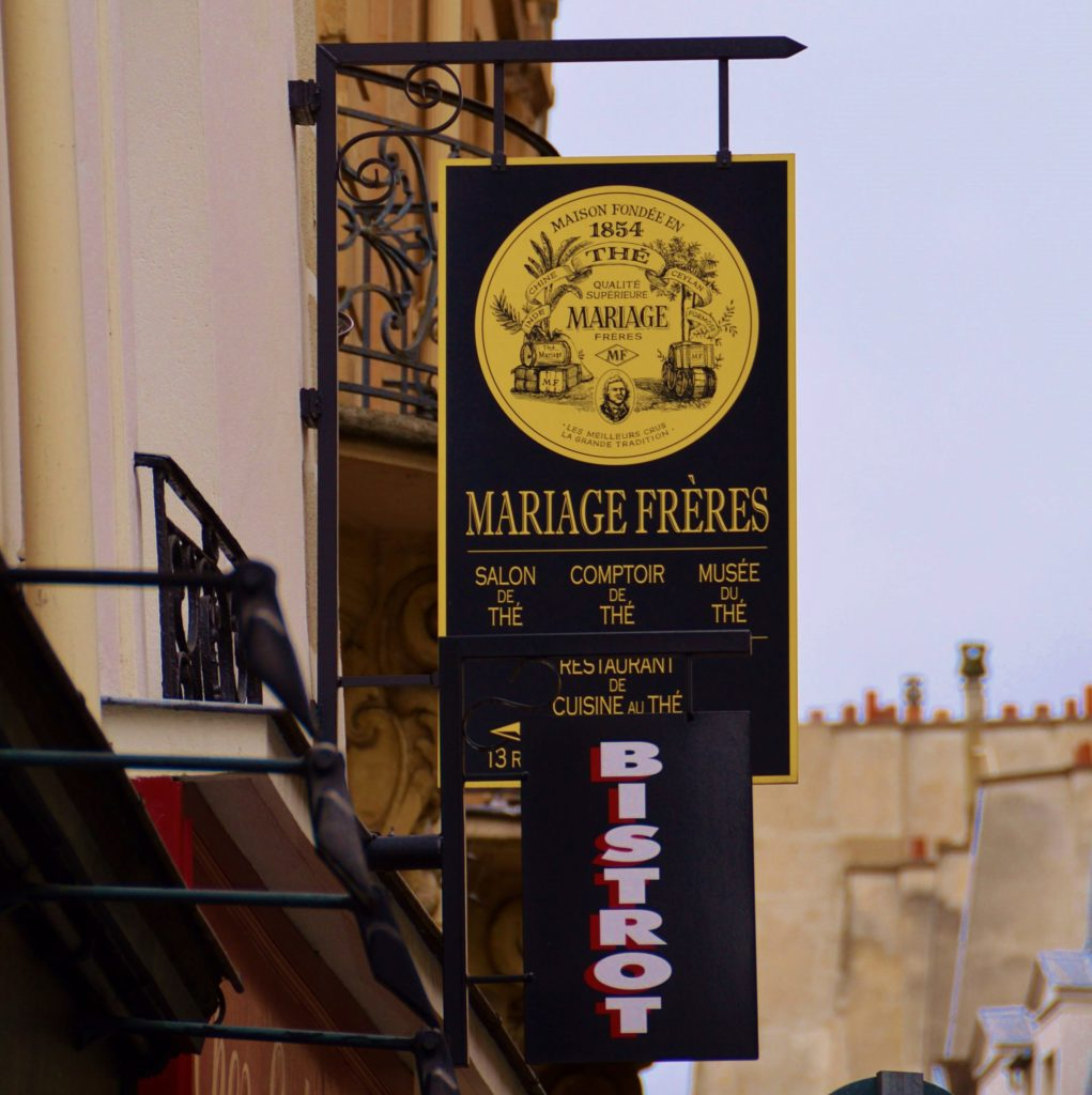 Mariage Freres Tea House in Paris