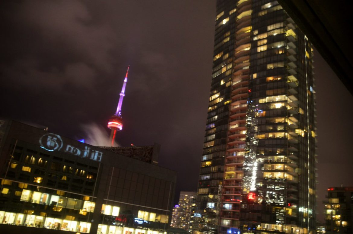 CN Tower in the hear of Toronto