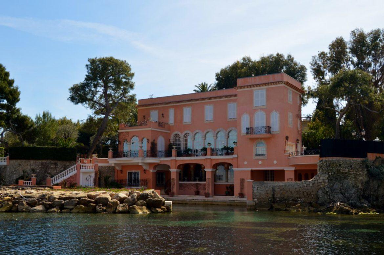 David Niven's home on Cap Ferrat