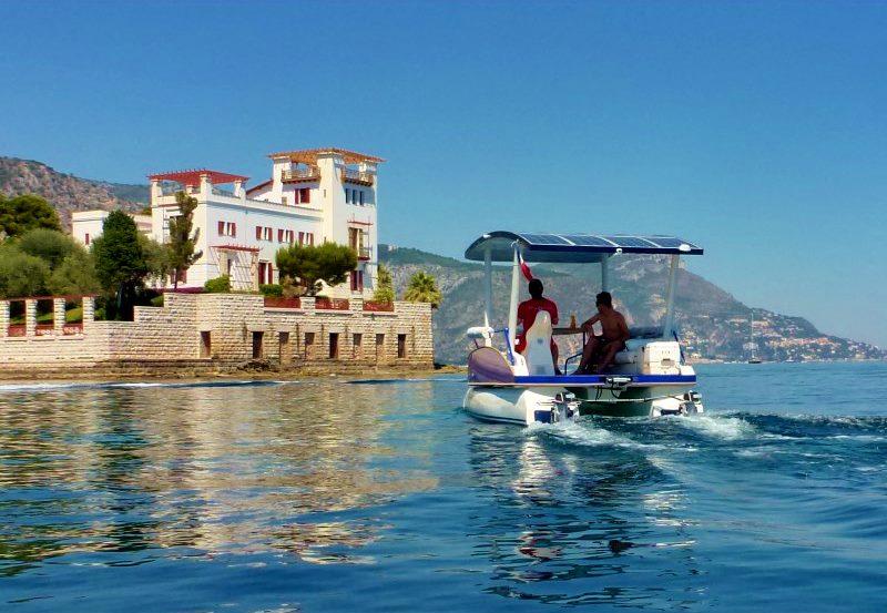 seaZen solar boat