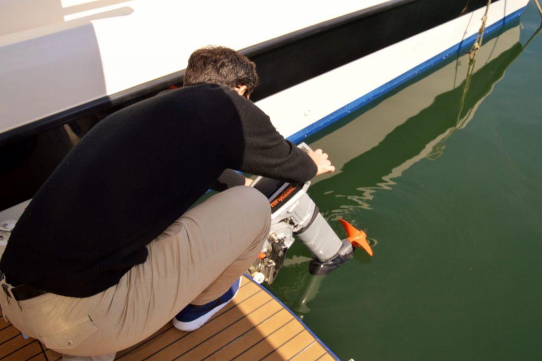 lowering the seaZen engine