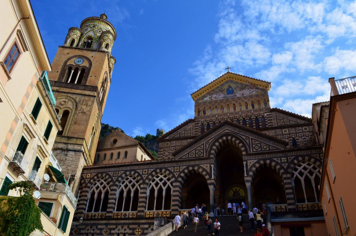 The Duomo (Cathedral) in Amalfi