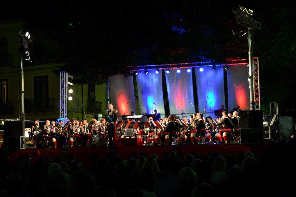 Open Air concert in Sorrento