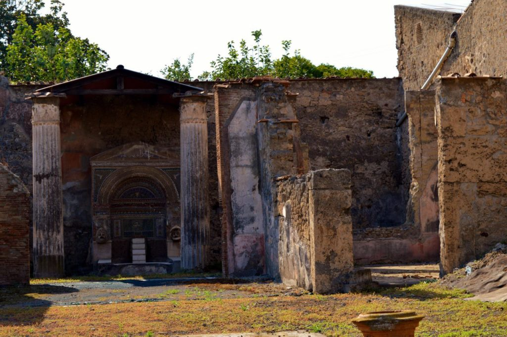 Temple in Pompeii