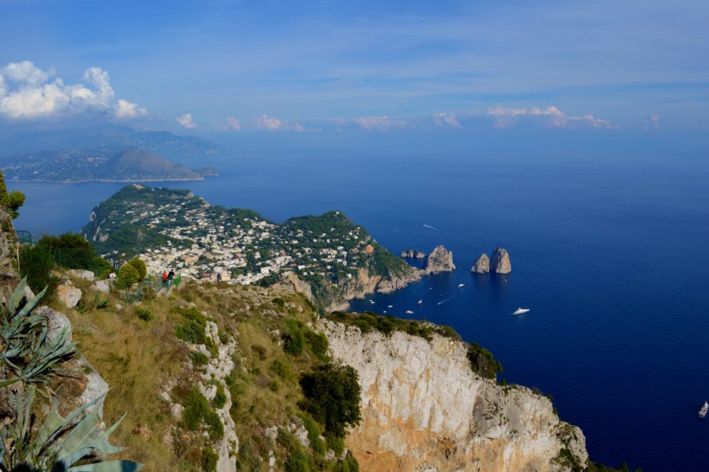 Views from atop Anacapri