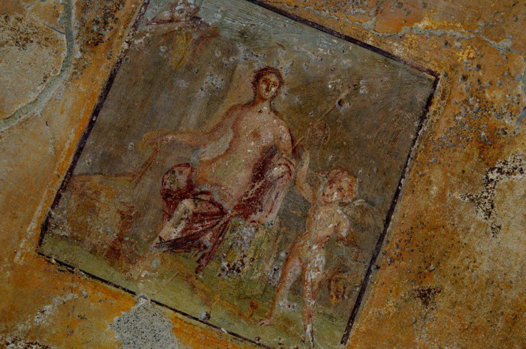 Frescoe in Pompeii