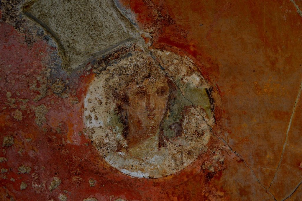 Face of a woman - Pompeii