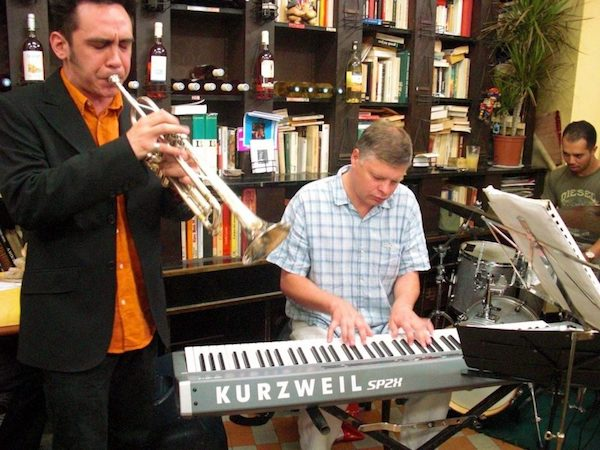 Traditional jazz in Nice at Caves Romagnan