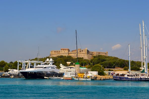 Le Fort Carré - one of the many attractions you see when you buy a French Riviera Pass