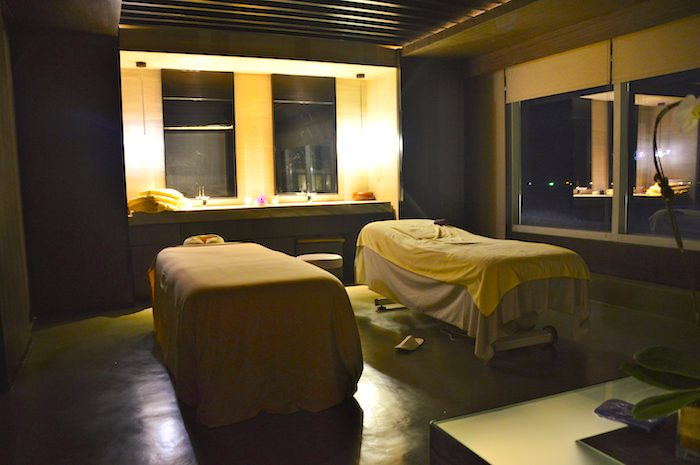 Treatment rooms at the Conrad Spa