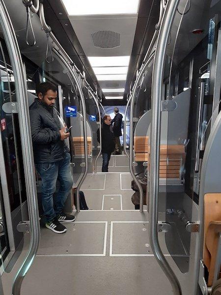 Lugano Svizzera funicolare dalla stazione ferroviaria