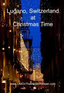 Lugano at Christmas pin