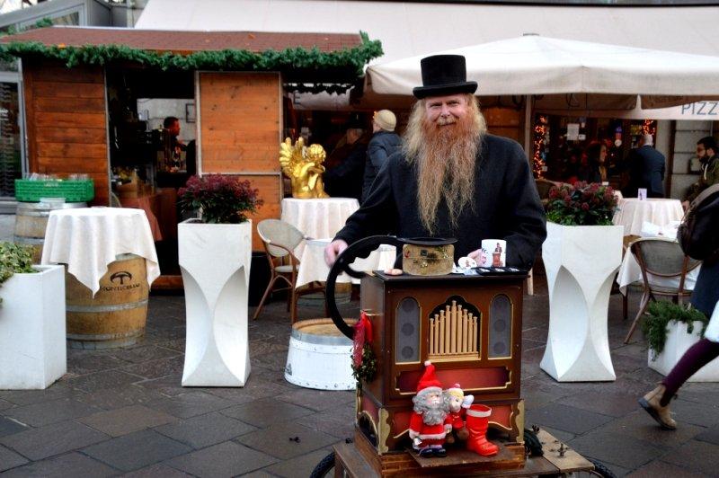 Musicman in Lugano