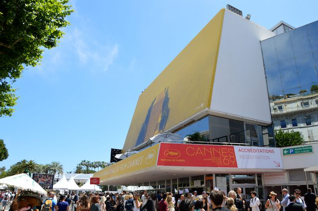The infamous Cannes Film Festival Venue