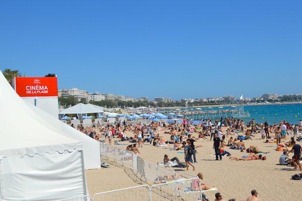 Cinema de la plage in Cannes
