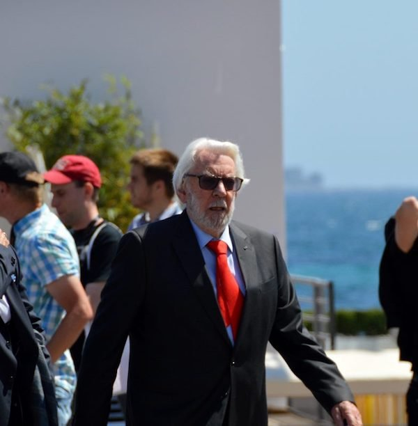 Donald Sutherland - Cannes Film Festival Judge