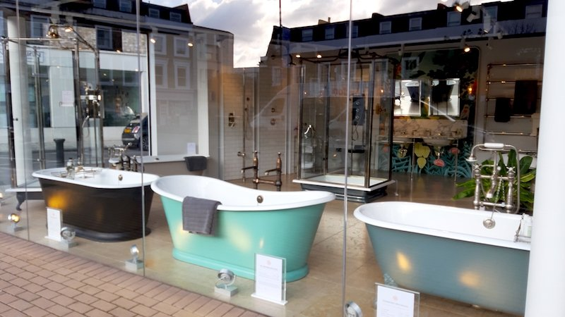expensive bath shops in Fulham