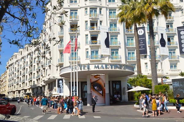 Hotel Martinez Hyatt during Cannes Film Festival