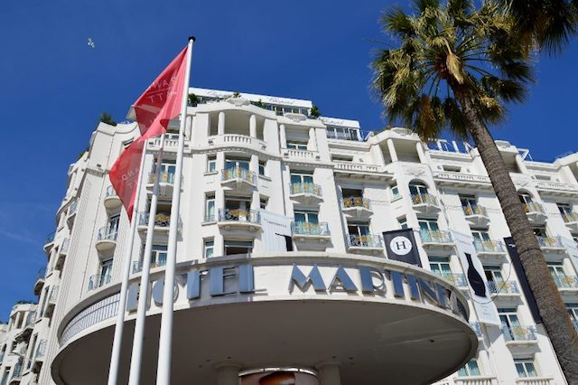 Hotel Martinez in Cannes cover