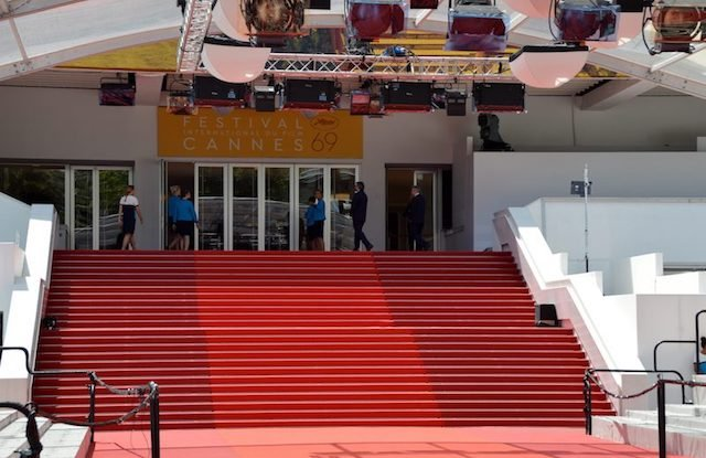 Infamous red carpet at Cannes that's changed 3 times a day!