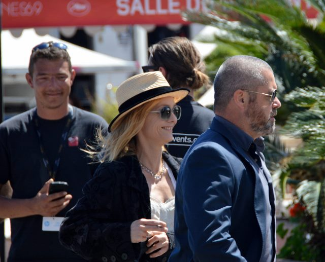 Vanessa Paradis at Cannes film festival